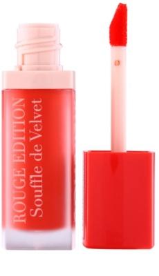 Bourjois Rouge Edition Souffle de Velvet folyékony rúzs 1