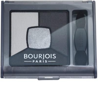 Bourjois Smoky Stories палитра със сенки за очи за опушен грим 1