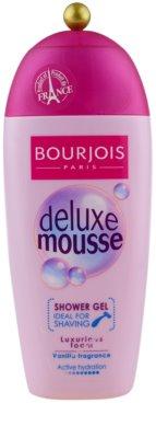 Bourjois Deluxe Mousse tusfürdő gél borotválkozáshoz