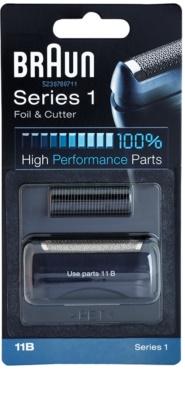 Braun CombiPack Series1 11B planžeta a stříhací lišta