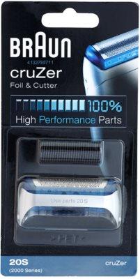 Braun CombiPack cruZer 20S касета: бриюча сітка та ріжучий блок