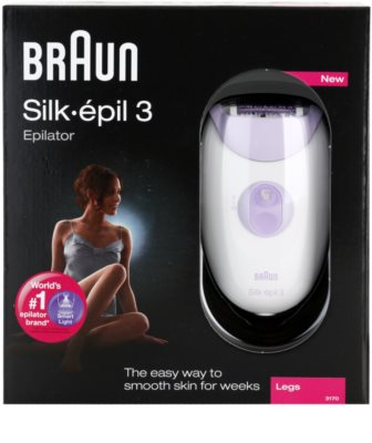 Braun Silk épil 3-3170 depiladora 5