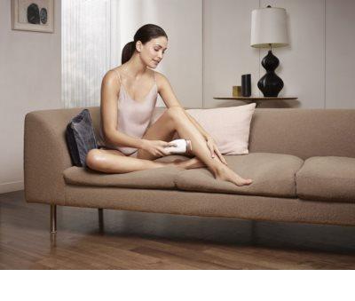 Braun Silk Expert IPL BD 5001 IPL epilator pentru fata si corp + aparat de ras Gillette Venus 5