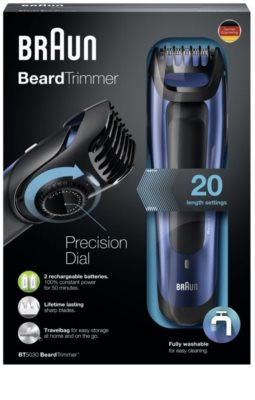 Braun Beard Trimmer BT5030 cortabarbas 2