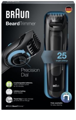 Braun Beard Trimmer BT5050 de tuns barba 2