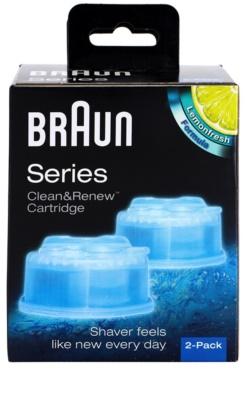 Braun Series Clean&Renew CCR2 cartuchos de limpieza