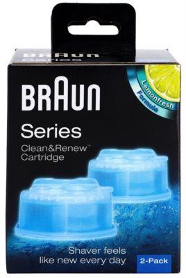 Braun Series Clean&Renew CCR2 nadomestne kartuše za čistilno postajo