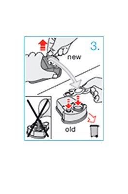 Braun Series Clean&Renew CCR2 nadomestne kartuše za čistilno postajo 2