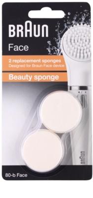 Braun Face  80-b Beauty Sponge cabeça refill 2 pçs