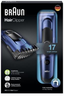 Braun Hair Clipper HC5030 maquinilla cortapelos 2