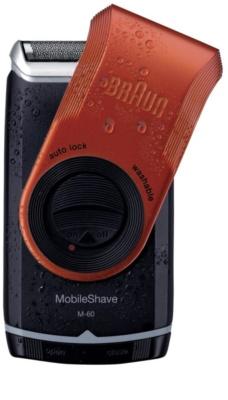 Braun MobileShave M-60r компактна бритва для подорожей червоний