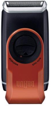 Braun MobileShave M-60r aparelho de depilação de viagem vermelha 2