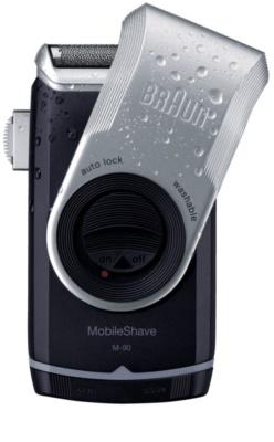 Braun MobileShave M-90 машинка за бръснене за пътуване