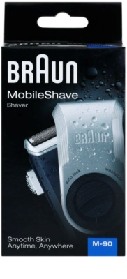 Braun MobileShave M-90 aparelho de depilação de viagem 10