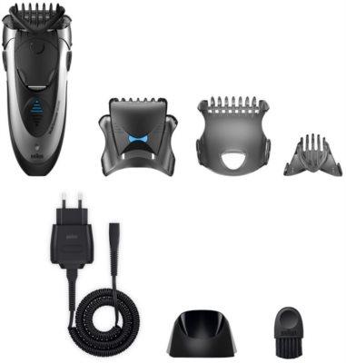 Braun Multi Groomer MG5090 cortador de cabelo e barba 3 em 1
