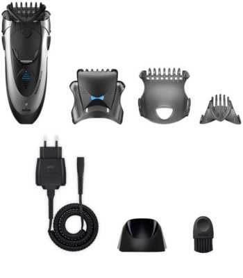 Braun Multi Groomer MG5090 cortapelos para cabello y barba 3 en 1