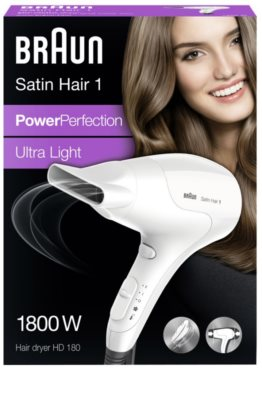 Braun Satin Hair 1 HD180 сешоар 10
