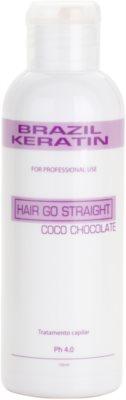 Brazil Keratin Coco cicuidados especial de enfermagem para alisamento e renovação de cabelo danificado