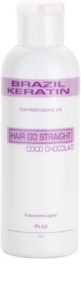 Brazil Keratin Coco спеціальний крем-догляд для вирівнювання та відновлення пошкодженого волосся