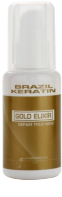 Brazil Keratin Gold Öl Pflege zum nähren und Feuchtigkeit spenden