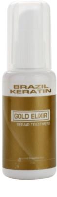 Brazil Keratin Gold tratamiento de aceite  nutrición e hidratación