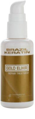 Brazil Keratin Gold olajos ápolás a táplálásért és hidratálásért 1