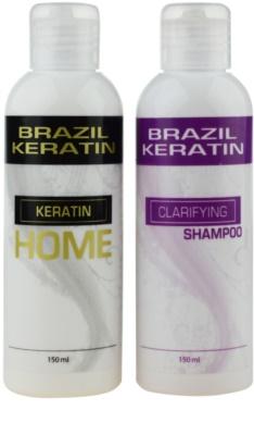 Brazil Keratin Home zestaw kosmetyków I.