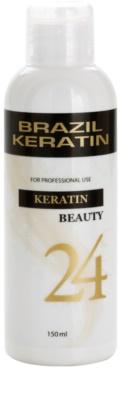 Brazil Keratin Beauty Keratin cicuidados especial de enfermagem para alisamento e renovação de cabelo danificado