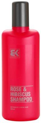 Brazil Keratin Rose & Hibiscus šampon se zvýšeným obsahem keratinu