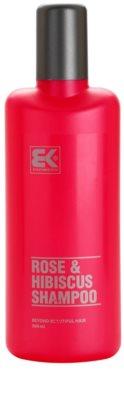 Brazil Keratin Rose & Hibiscus szampon ze zwiększoną zawartością keratyny