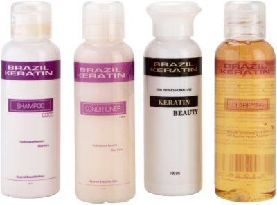 Brazil Keratin Start Set Kosmetik-Set  II. 1