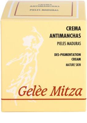 Brische Gelee Mitza creme anti-manchas de pigmentação 1