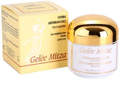 Brische Gelee Mitza creme anti-manchas de pigmentação 3