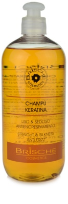 Brische Keratina šampon za glajenje las
