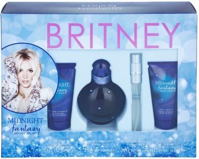 Britney Spears Fantasy Midnight lote de regalo 2