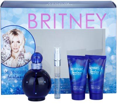 Britney Spears Fantasy Midnight lote de regalo