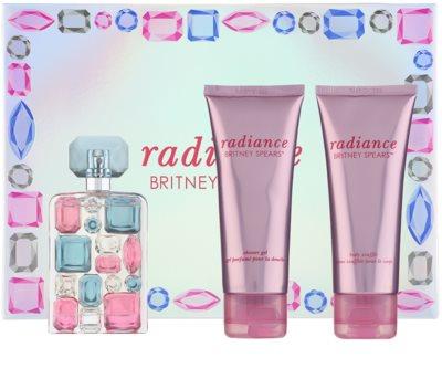Britney Spears Radiance lote de regalo