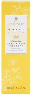 Bronnley Honey Blossom intenzív krém kézre és körmökre 2
