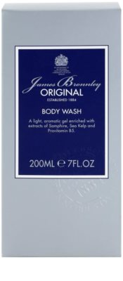 Bronnley James Bronnley Original gel de duche para homens 2