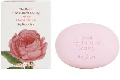 Bronnley Rose sabonete sólido com manteiga de karité