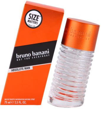 Bruno Banani Absolute Man Eau de Toilette pentru barbati