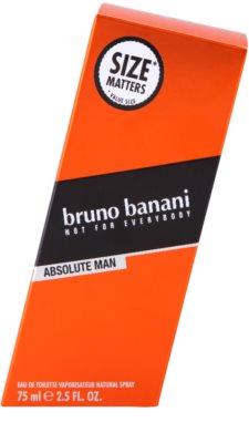Bruno Banani Absolute Man Eau de Toilette für Herren 4