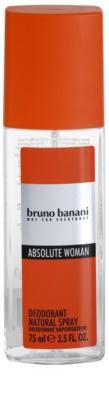 Bruno Banani Absolute Woman deodorant s rozprašovačem pro ženy