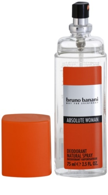 Bruno Banani Absolute Woman дезодорант з пульверизатором для жінок 1