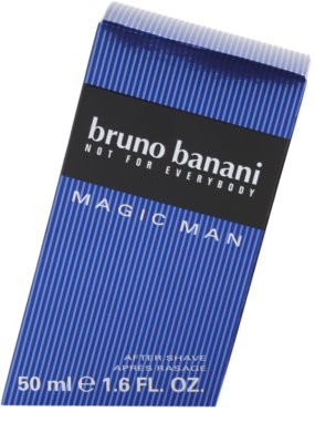 Bruno Banani Magic Man loción after shave para hombre 4