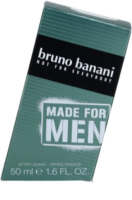 Bruno Banani Made for Men loción after shave para hombre 3