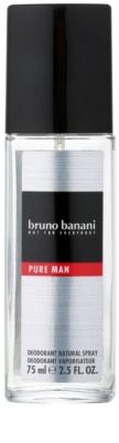 Bruno Banani Pure Man дезодорант з пульверизатором для чоловіків