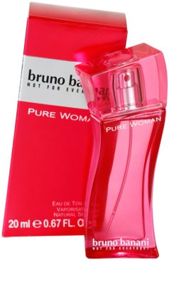 Bruno Banani Pure Woman eau de toilette para mujer 1