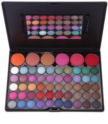 BrushArt 60 Color Palette mit Lidschatten und Rouge inkl. Spiegel und Pinsel