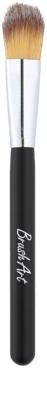 BrushArt Face четка за нанасяне на течен и кремообразен фон дьо тен